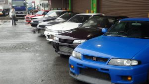 JDM Skyline for sale at JDM EXPO Yatomi Head Office