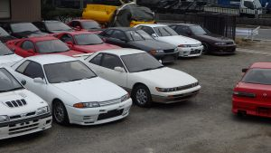 Skylines for sale at JDM EXPO Yatomi Yard #2