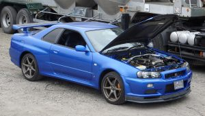 JDM EXPO Demo Car - Skyline GTR R34 V-Spec II Nur!