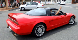 Happy Customer after receiving his Honda NSX delivered by JDM EXPO Staff